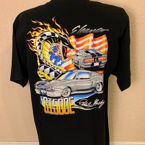 Ford Mustang Shelby GT500 Eleanor Graphic T-shirt